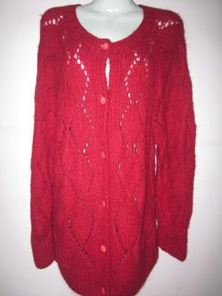 Ảnh số 78: len đỏ dáng dài - Giá: 450.000