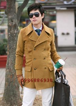Ảnh số 2: áo choàng dạ nam - Giá: 1.500.000