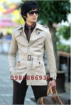 Ảnh số 6: áo choàng dạ nam - Giá: 1.400.000