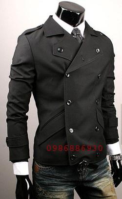 Ảnh số 14: áo choàng dạ nam - Giá: 1.400.000