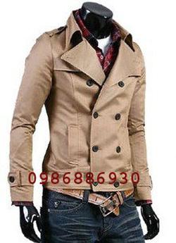 Ảnh số 15: áo choàng dạ nam - Giá: 1.400.000