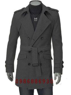 Ảnh số 16: áo choàng dạ nam - Giá: 1.600.000