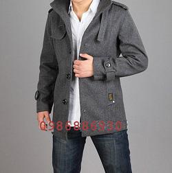 Ảnh số 17: áo choàng dạ nam - Giá: 1.400.000