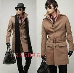Ảnh số 19: áo choàng dạ nam - Giá: 1.500.000