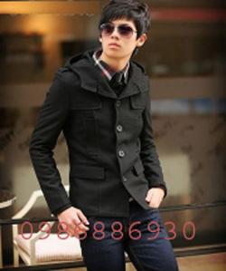 Ảnh số 20: áo choàng dạ nam - Giá: 1.400.000