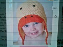 Ảnh số 92: Mũ móc trẻ em - Giá: 1.000