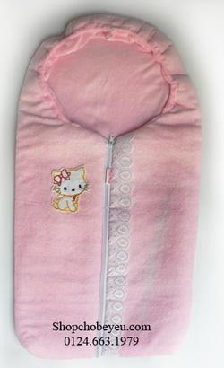 Ảnh số 5: Túi ngủ sợi bông kéo khóa (siêu nhẹ+ấm) (đã bán) - Giá: 62.000