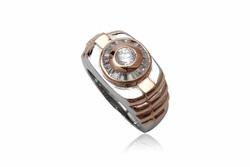Ảnh số 14: TrangsucLUNA Nhẫn nam đính kim cương nhân tạo xi phủ vàng trắng vàng tây 18k - Giá: 1.630.000