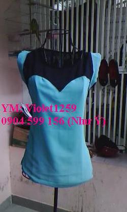 Ảnh số 36: Áo cúp 2 màu tay ngắn 150k - Giá: 150.000
