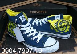Ảnh số 10: Giày Converse Century cổ bẻ xanh navy - Giá: 249.000