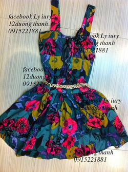 Ảnh số 2: váy hoa - Giá: 700.000