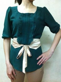 Ảnh số 65: áo sơ mi thắt đai eo - Giá: 200.000