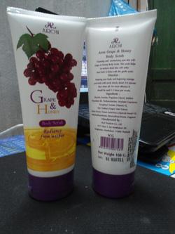 Ảnh số 47: gel tẩy tế bào chết Thái lan Aron Grape & Honey body Scrub_150g - Giá: 70.000