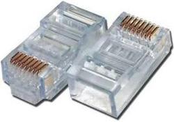 Ảnh số 1: Hạt mạng nhựa thường dùng bấm các đầu mạng - Giá: 45.000