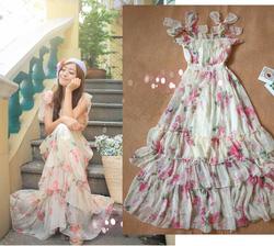 Ảnh số 51: váy maxi voan - Giá: 295.000