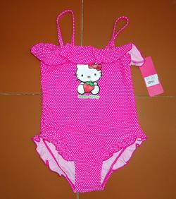Ảnh số 35: Áo bơi bi hồng Kitty Lyrca - Giá: 145.000
