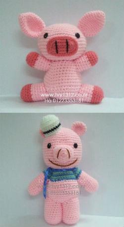 Ảnh số 51: Lợn thuỷ thủ 100K-Lợn hồng 100K - Giá: 100.000
