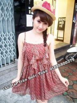 Ảnh số 100: váy lá Ly còi iu iu - Giá: 170.000