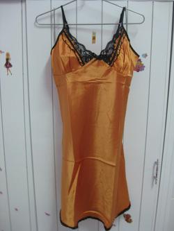 Ảnh số 1: đầm phi ren màu cam( đủ màu) - Giá: 80.000