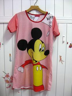 Ảnh số 18: áo ngủ hoạt hình 01 - Giá: 55.000