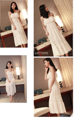 Ảnh số 28: Váy maxi vải ren pha vải thô - Giá: 290.000