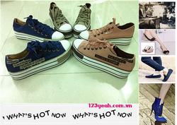 Ảnh số 1: Giày nữ đi chơi, đi học Fashion GTT16 - Giá: 270.000