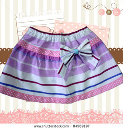 Ảnh số 14: váy lưng thun - Giá: 80.000