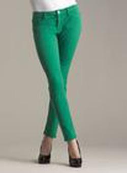 Ảnh số 3: Quần skinny xanh lá c&acircy dịu ngọt - Giá: 215.000