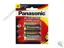 Ảnh số 44: Pin trung C, Pin Kiềm Alkaline, Pin thông dụng, Pin 1.5V, Pin PANASONIC LR14T/2B (1 Vỉ/ 2 viên pin) - Giá: 63.500