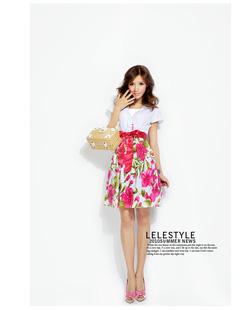 Ảnh số 3: Váy hoa tiểu thư họa tiết Floral hot 2012! - Giá: 200.000