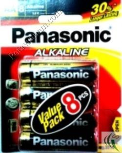 Ảnh số 61: Pin tiểu AA, Pin thông dụng, Pin Alkaline Kiềm, Pin 1.5V, Pin Panasonic LR6T/8B (1 vỉ/ 8 viên pin) - Giá: 80.000
