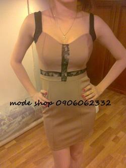 Ảnh số 85: váy nâu - Giá: 280.000