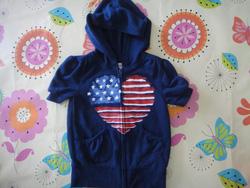 Ảnh số 29: Áo cờ USA xanh OLD NAVY - Giá: 135.000
