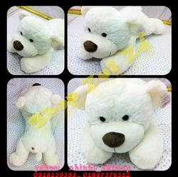 Ảnh số 19: Gấu nằm lông trắng mịn (big) - Giá: 300.000