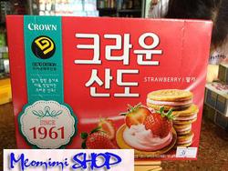 Ảnh số 24: Bánh kẹp kem dâu Crown - Giá: 38.000