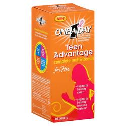 Ảnh số 10: One-A-Day Teen Advantage for Her. Lọ 80 viên - Giá: 350.000
