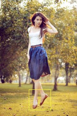 Ảnh số 4: chân váy jean hồ ngọc hà - Giá: 90.000