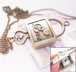 Ảnh số 11: DCDH 024 _Dây chuyền đồng ổ khóa tình yêu - 110.000 VNĐ - Giá: 110.000
