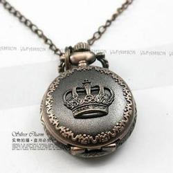 Ảnh số 13: DCDH 028_Dây chuyền đồng hồ vương miện - 110.000 VNĐ - Giá: 110.000
