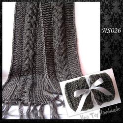 Ảnh số 3: Khăn đan kiểu vặn thừng - Giá: 209.000