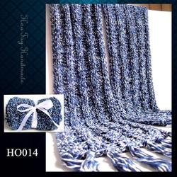 Ảnh số 11: Khăn đan kiểu ô vuông - Giá: 209.000