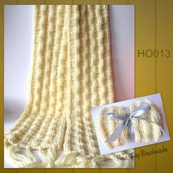 Ảnh số 12: Khăn đan kiểu ô vuông - Giá: 209.000