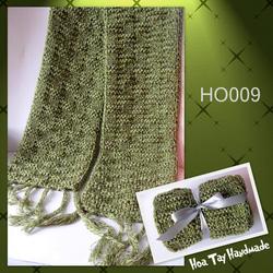 Ảnh số 13: Khăn đan kiểu ô vuông - Giá: 209.000