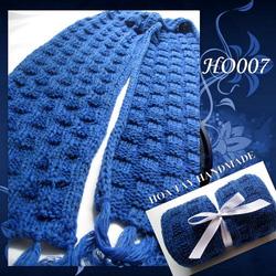 Ảnh số 15: Khăn đan kiểu ô vuông - Giá: 209.000