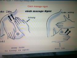 Ảnh số 19: hướng dẫn massage ngực - Giá: 1.000