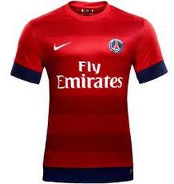 Ảnh số 81: Pari saint germain đỏ sân khách mùa giải 2012 2013 - Giá: 75.000