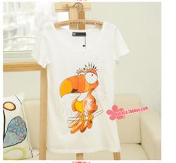 Ảnh số 28: áo thun con vẹt cực xinh - Giá: 50.000