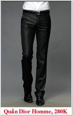 Ảnh số 3: Quần Âu Nam Dior 280K - Giá: 280.000