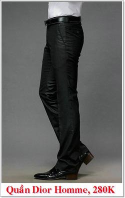 Ảnh số 5: Quần Âu Nam Dior 280K - Giá: 280.000