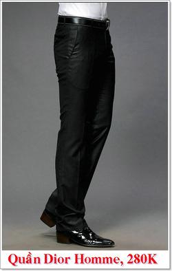 Ảnh số 10: Quần Âu Nam Dior 280K - Giá: 280.000